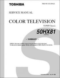 50HX81 Service Manual