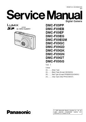 lumix dmc fx9 service manual complete service manuals rh completeservicemanuals com Yamaha FX9 FX9 Freedom