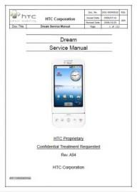 Dream Service Manual