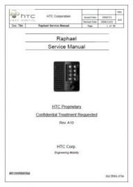 Raphael Service Manual