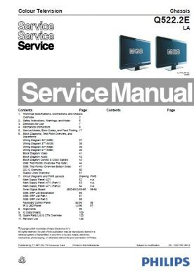 47pfl5603d 10 service manual complete service manuals rh completeservicemanuals com television service manuals free download television service manual pdf