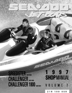 1997 Seadoo Challenger Service Manual Complete Service border=