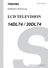 20DL74 Service Manual