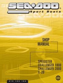 2002 SeaDoo Challenger 1800 (240 EFI) Service Manual