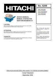 26LD6200 Service Manual