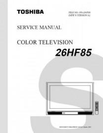 26HF85 Service Manual