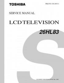 26HL83 Service Manual