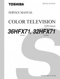 36HFX71 Service Manual