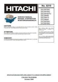 32LD8A10 Service Manual