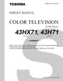 43H71 Service Manual