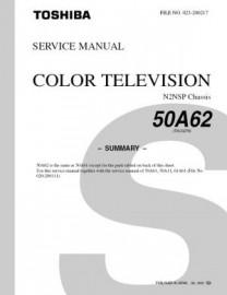 50A62 Service Manual