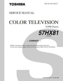 57HX81 Service Manual