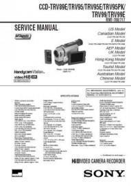 CCD-TRV99 Service Manual