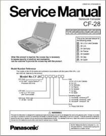 CF-28 (Except MK3) Service Manual