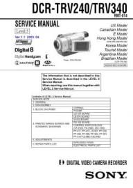 DCR-TRV240 Service Manual