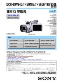 DCR-TRV940 Service Manual
