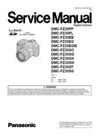 Lumix DMC-FZ30 Service Manual