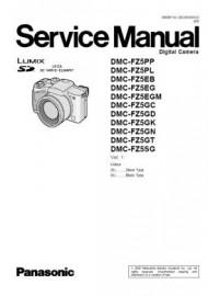 Lumix DMC-FZ5 Service Manual