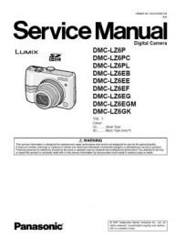 Lumix DMC-LZ6 Service Manual