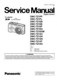 Lumix DMC-TZ1 Service Manual