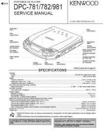 DPC-781 Service Manual