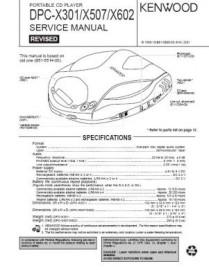 DPC-X602 Service Manual