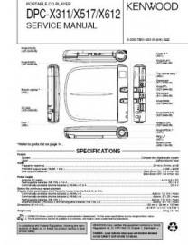 DPC-X311 Service Manual