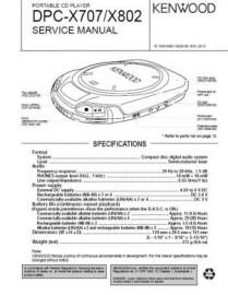 DPC-X707 Service Manual