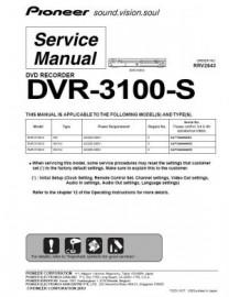 DVR-3100-S Service Manual