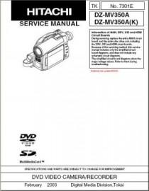 DZ-MV350A Service Manual
