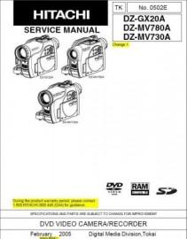 DZ-MV730A Service Manual
