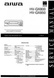 HV-GX850K Service Manual