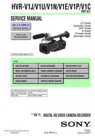 HVR-V1P Service Manual