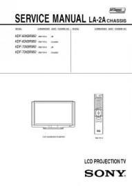 KDF-70XBR950 Service Manual