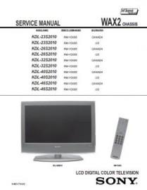 KDL-26S2010 Service Manual