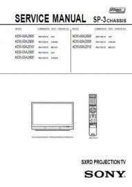 KDS-60A2000 Service Manual