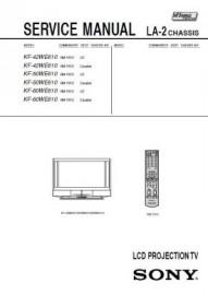 KF-42WE610 Service Manual