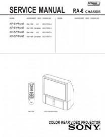 KP-51HW40 Service Manual