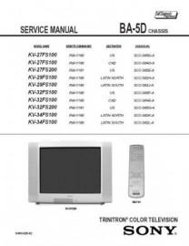 KV-32FS100 Service Manual