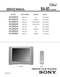 KV-36FS210 Service Manual