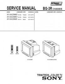 KV-XA25M63 Service Manual