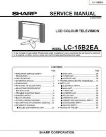 LC-15B2EA Series Service Manual