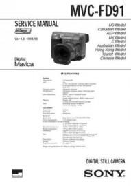 MVC-FD91 Service Manual