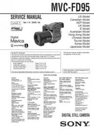 MVC-FD95 Service Manual