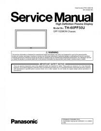 TC-60PF50U Service Manual