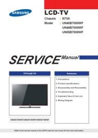 UN46B7000WF Service Manual