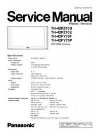 TH-42PZ70B Service Manual