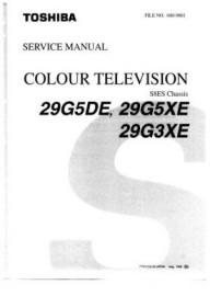 29G5DE Service Manual