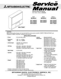 WT-46807 Service Manual