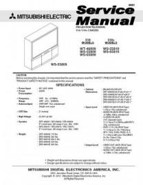 WT-46809 Service Manual